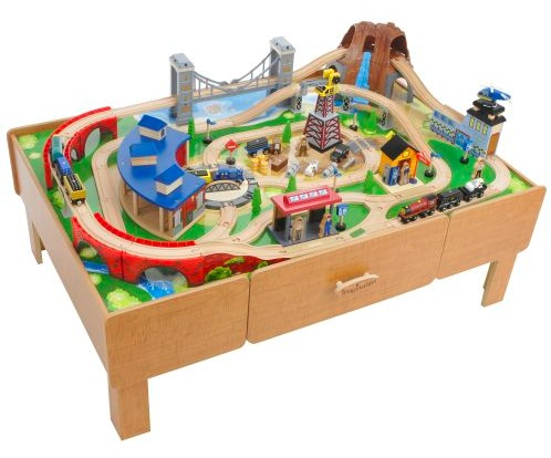 TRU link to the table I got it from TRU last December u0026 paid $129......then 2 days later I saw someone here has posted they had it for $99 and I brought ...  sc 1 st  Long Island Families : thomas the train table set - pezcame.com